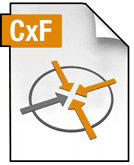 Icono del archivo de Color Exchange Format (CxF).