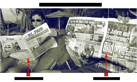 Resultado de imagen de periódico sábana